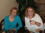 Friends Lyndee Henderson and Robin Kuss
